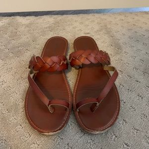American Eagle brown sandals. Size 9
